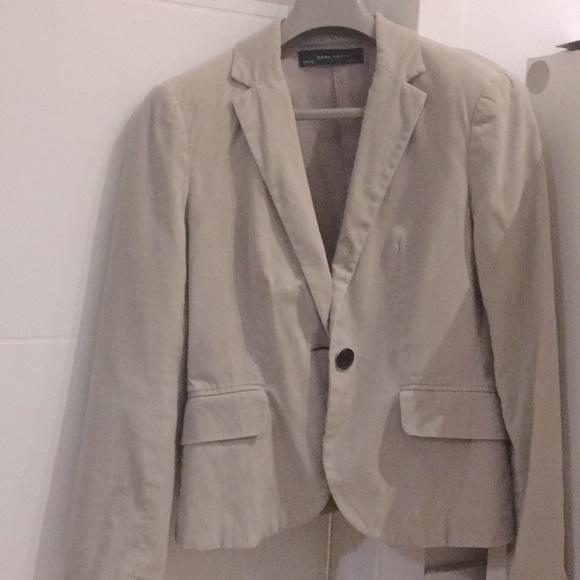 Zara Jackets & Blazers - Light Taupe Zara Blazer